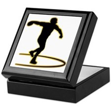 Discus-Throwing-AD Keepsake Box