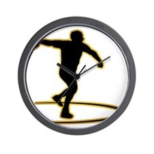 Discus-Throwing-AD Wall Clock