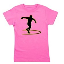 Discus-Throwing-AD Girl's Tee