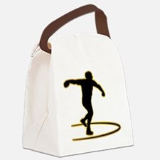 Discus-Throwing-AD Canvas Lunch Bag