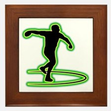 Discus-Throwing-AC Framed Tile