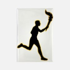 Torch-Bearer-AD Rectangle Magnet