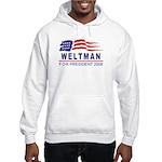 Lisa Weltman 2008 (wave) Hooded Sweatshirt
