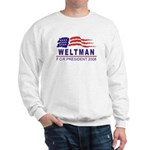 Lisa Weltman 2008 (wave) Sweatshirt