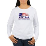 Lisa Weltman 2008 (wave) Women's Long Sleeve T-Shi