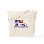 Lisa Weltman 2008 (wave) Tote Bag