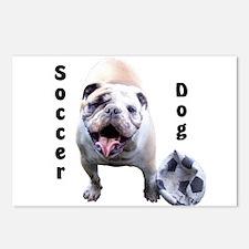 Soccer Dog Postcards (Package of 8)