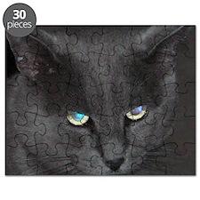 Unique Cat w/ Cool Eyes Puzzle