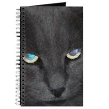 Unique Cat w/ Cool Eyes Journal