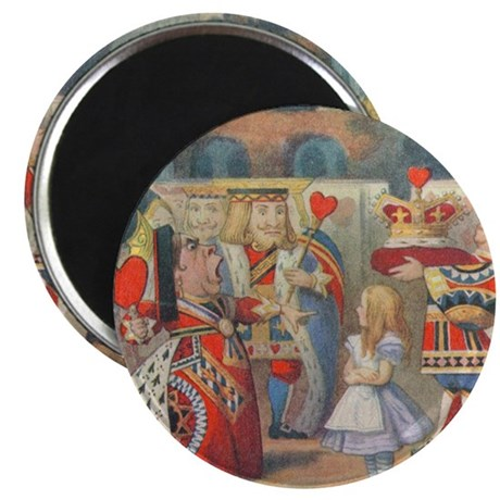 "Queen of Hearts 2.25"" Magnet (100 pack)"