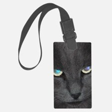 Unique Cat w/ Cool Eyes Luggage Tag
