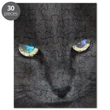Unique Cat w/ Cool Eyes Puzzle
