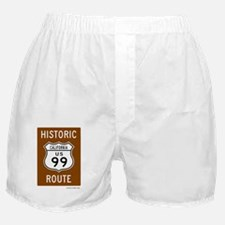 Historic US Route 99 Boxer Shorts
