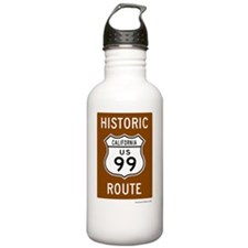 Historic US Route 99 Water Bottle