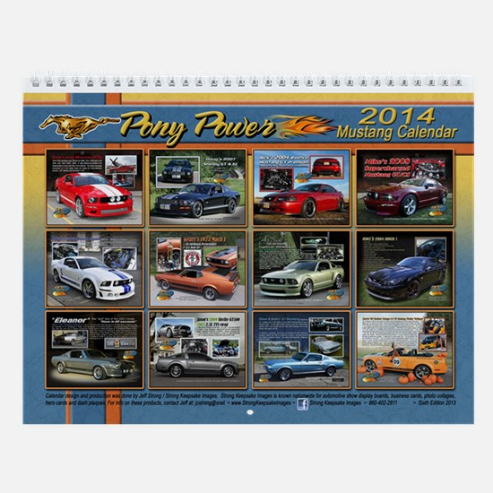 2014 Pony Power Calendar