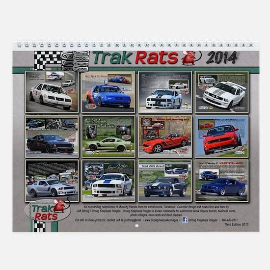 2014 Trak Rats Calendar