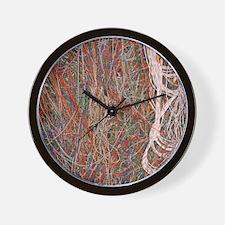 Heathkit computer wires Wall Clock