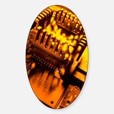 Heat sink Sticker (Oval)