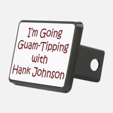 Guam Tipping Red Hitch Cover