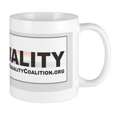 Equality Bumper Sticker Mug