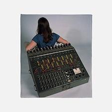 Heathkit H-1 analog computer Throw Blanket