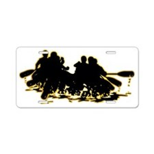 Whitewater-Rafting-AD Aluminum License Plate