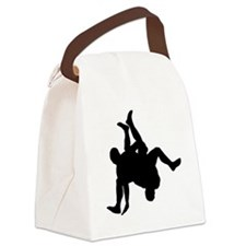 Wrestler-AA Canvas Lunch Bag