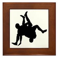 Wrestler-AA Framed Tile