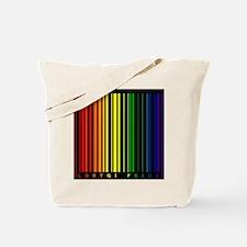 LGBTQI PRIDE Bar Code Tote Bag
