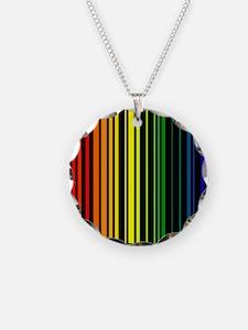 LGBTQI PRIDE Bar Code Necklace
