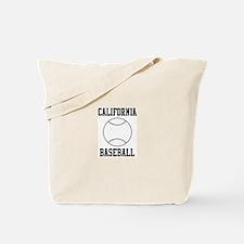 California Baseball Tote Bag