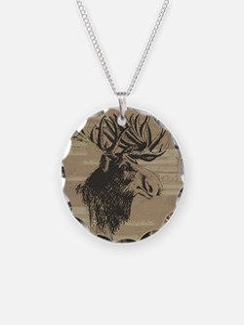 Big Moose Necklace