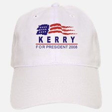 John Kerry 2008 (wave) Baseball Baseball Cap