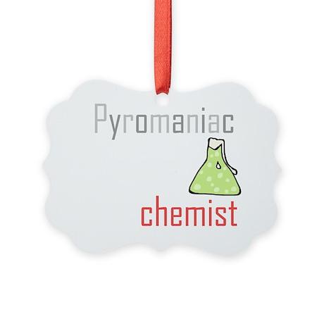 Pyromaniac Picture Ornament