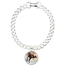 Hopping Kangaroo Charm Bracelet, One Charm