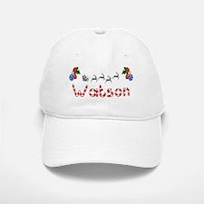Watson, Christmas Baseball Baseball Cap