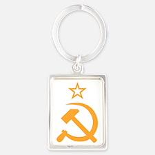 Soviet Portrait Keychain