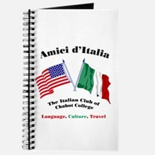 Cute Italian american flag Journal