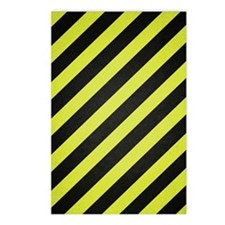 Warning Stripes Postcards (Package of 8)