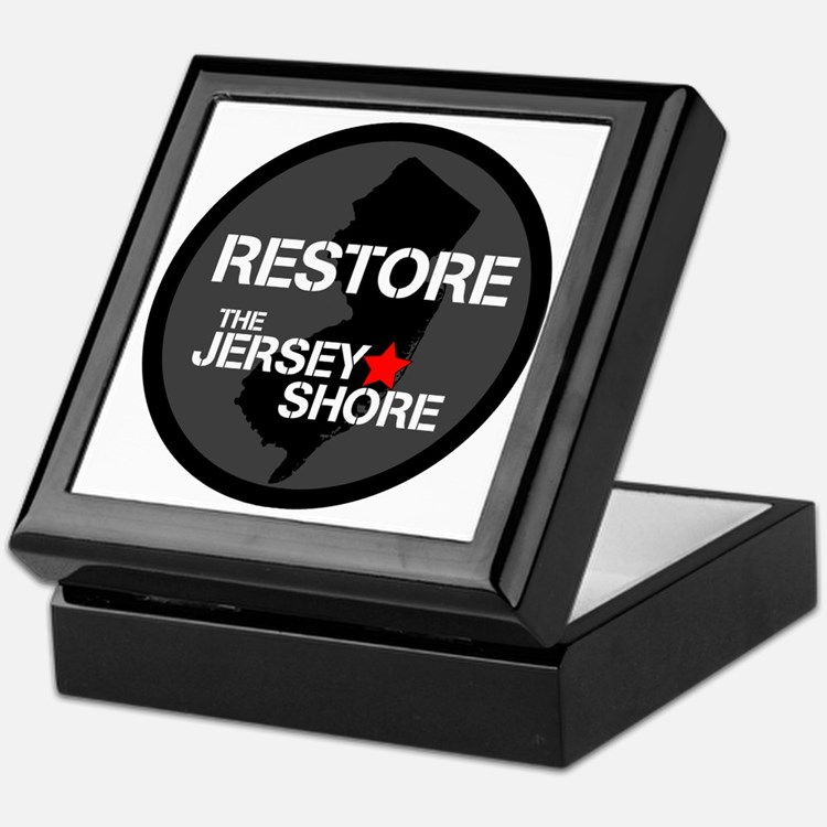 Restore The Jersey Shore Keepsake Box