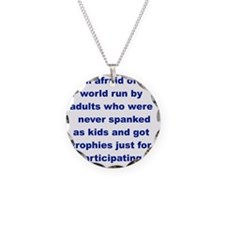IM AFRAID OF A WORLD RUN ADU Necklace