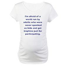 IM AFRAID OF A WORLD RUN ADULTS  Shirt