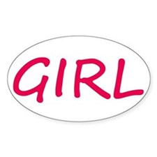 I Ride Like a Girl Decal