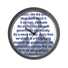 SOCIALISM LIKE THE ANCIENT IDEAS FROM.. Wall Clock