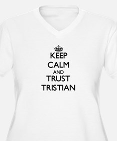 Keep Calm and TRUST Tristian Plus Size T-Shirt