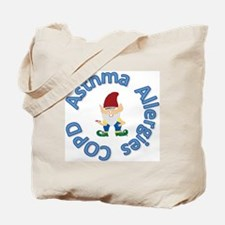 Asthma,Allergy,COPD in Blue Tote Bag