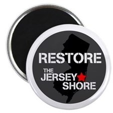 Restore The Jersey Shore Magnet