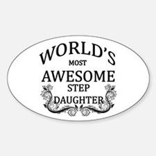 World's Most Awesome Step-Daughter Decal