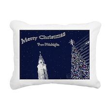 Merry Christmas from Phi Rectangular Canvas Pillow