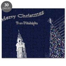 Merry Christmas from Philadelphia Puzzle